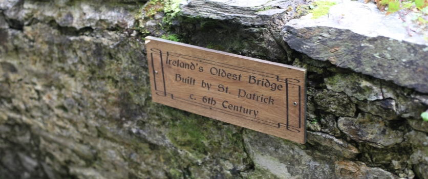 Ireland's Oldest Bridge built by St.Patrick